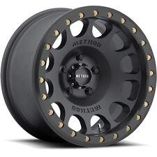 Method MR105 17x8.5 6x139.7 (6x5.5) +0mm Black Wheels Rims MR10578560500B