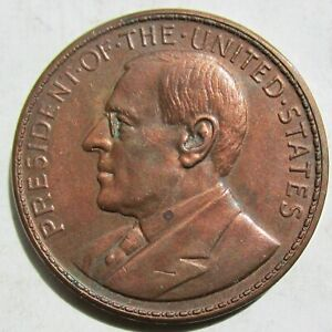 1920 Philippines OPENING OF MANILA MINT So-Called Dollar Wilson HK-450 Copper