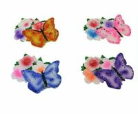 Beautiful Multicoloured Butterfly Fridge Magnets4 in Pack 8cm