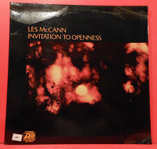 LES MCCANN INVITATION TO OPENNESS LP 72 ORIGINAL JAZZ FUNK GREAT COND! VG+/VG+!!