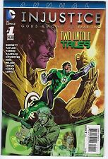 Injustice Gods Among Us Year 2 # 1 Annual NM Unread DC Two Untold Stories