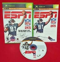 ESPN NFL 2K5 Football -  Microsoft Xbox OG Rare Game Complete Working Tested !