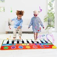 Grande taille tapis de jeu piano musical éducatif voix chant gym pour enfants