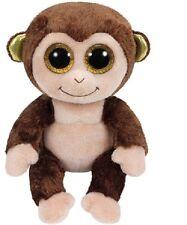 Ty Beanie Boos Glubschi Monkey Boris Reddish Stuffed 15 Cm 2015 Limited