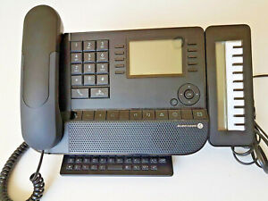 Alcatel-Lucent 8038 Premium ip Phone w/ DSS console 12 months w/ty.Tax invoice