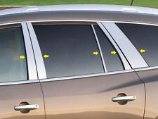 10PC STAINLESS STEEL PILLAR POST TRIM FITS 2008-2012 BUICK ENCLAVE QAA