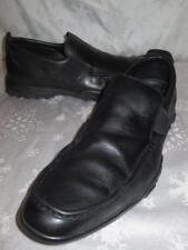COLE HAAN Mens BLACK LEATHER Elastic Sides LOAFERS Shoes Size 11 M *NICE!!*