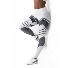 Women Print Yoga Fitness Leggings Running Gym Stretch Sports Pants Trousers