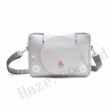 Playstation Ps1 Unisex Messenger Gray Carry Case Shoulder Bag