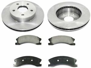 For 1999-2004 Jeep Grand Cherokee Brake Pad and Rotor Kit Front 44823HQ 2000