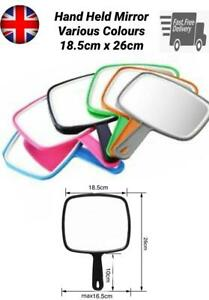 Hand Held Mirror Professional Salon Style Handheld Vanity Mirror Makeup Tool New