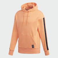 Men Adidas Juventus 2020-21 Seasonal Special Hoodie Orange FS7587 Soccer Size M