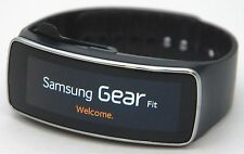 Samsung SM-R350 Galaxy Gear Fit BLACK Activity Fitness Tracker Watch Unisex Mens