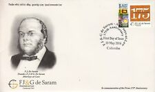 Special Commemorative Cover :  175th Anniversary FJ&G De Sarem