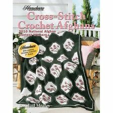 Cross Stitch Afghans 2010 Crochet Award Winners Pattern Book Herrschners New