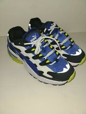 Puma Cell Venom  Mens  White blue Mesh Low Top Sneakers Shoes size 6