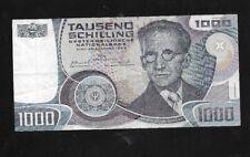 1000 Schilling  3.Jänner 1983 Erwin Schrödinger G 142521 G  Eiamaya