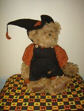 Boyds Bears Witchy- Boo Halloween Witch Broom