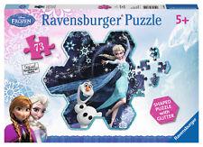 CHILDRENS DISNEY FROZEN ELSA'S SNOWFLAKE 73 PIECE JIGSAW PUZZLE RAVENSBURGER