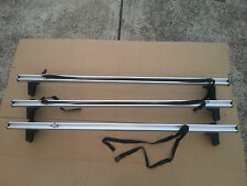 Toyota  Hiace 1983 - 2004 Alloy Roof Racks (3pcs) With max load 150kg on 3 bars