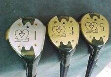 Square Two LPGA Lady Golf Clubs Rare set Refurbished RH Woods Driver 3 5 Womens