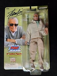 """Discounted - STAN LEE - Classic 8"""" MEGO Action Figure / Comic Book Hero Legend"""