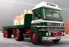 Atlas 4649123 Eddie Stobart 1 76 Scale ERF LV Platform Trailer Lorry