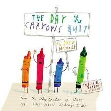 NEW The Day the Crayons Quit by Drew Daywalt