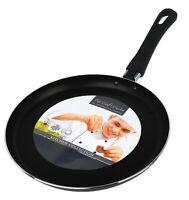 25 cm Flach Krepp Bratpfanne Ideal für Chapatis Pfannkuchen - Kuchen Tag 5 March