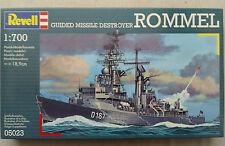 """Revell 05023 Guided missile Destroyer """"Rommel"""" 1:700 Neu & versiegelt"""