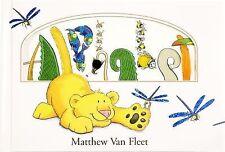 Alphabet by Matthew Van Fleet c2008, NEW Hardcover