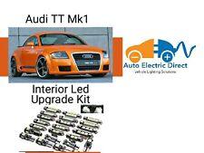AUDI TT MK1 8N3 1998-2006 LED INTERIOR UPGRADE LIGHT KIT SET XENON WHITE