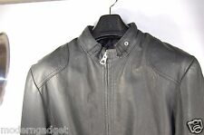 SUPER BEAUTIFUL !!!   G-STAR RAW WOMEN/MEN  LEATHER BIKER JACKET WOMEN L MEN M