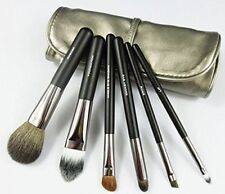 NAKE 6 pc Professional Mini Travel Makeup Goat Hair Makeup Brush Set with Bag