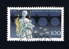GERMANIA 1 FRANCOBOLLO SAN GIOVANNI NEPOMUCENO 1993 timbrato (BD4908)