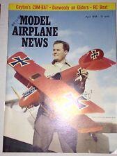 Model Airplane News Magazine Cayton's Com-bat April 1959 010217RH