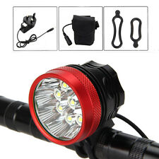 18000 LM 9x CREE XM-T6 LED Front Bicycle Head light Bike Lamp Headlight 6x18650