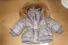 MONNALISA NYLON fantastiche Giacca 🌺 MONNALISA 🌺 elegante giacca con cappuccio 24 m.86/92/98