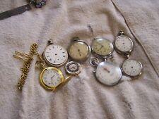 Antique Vintage Pocket Watch Lot