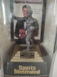 Sports Illustrated - Muhammad Ali - Limited Edition - Fine Pewter Boxing Figure