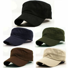 Military Hat Army Cadet Patrol Castro Cap Men Women Golf Baseball Summer Sun Hat