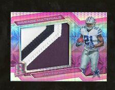 2016 Spectra Neon Pink Ezekiel Elliott Cowboys RC Rookie Patch 10/10