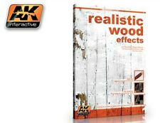 AK INTERACTIVE 259 Model Kit Realistic Wood Effects Paint Guide Book FREE SHIP
