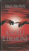 ANGELI E DEMONI di Dan Brown Abbinamento Editoriale La Repubblica