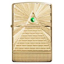 EDEL Zippo Eye of Provident Pyramide Auge Armor Case Messing LP 89,95 €