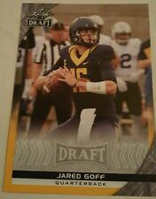 2016 Leaf Draft Football Gold # 36 Jared Goff  MINT FROM PACK