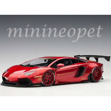 AUTOart 79109 LIBERTY WALK LB WORKS LAMBORGHINI AVENTADOR 1/18 METALLIC RED