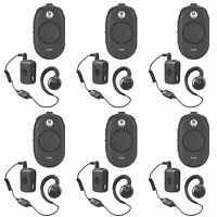 6 Motorola CLP1060 UHF Two-Way Radios + Rebate for a Free Multi-Unit Charger