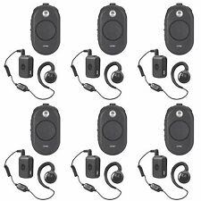6 Motorola CLP1060 Business Two-Way Radios + Free Multi-Unit Charger & Cash Card