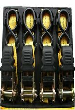Sangle à cliquet Barres De Toit Bas câbles 4.8m 2.5cm 25mm vent Teather